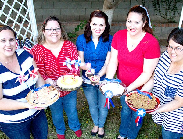 4th of July pies
