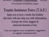 Tourist Assistance Force