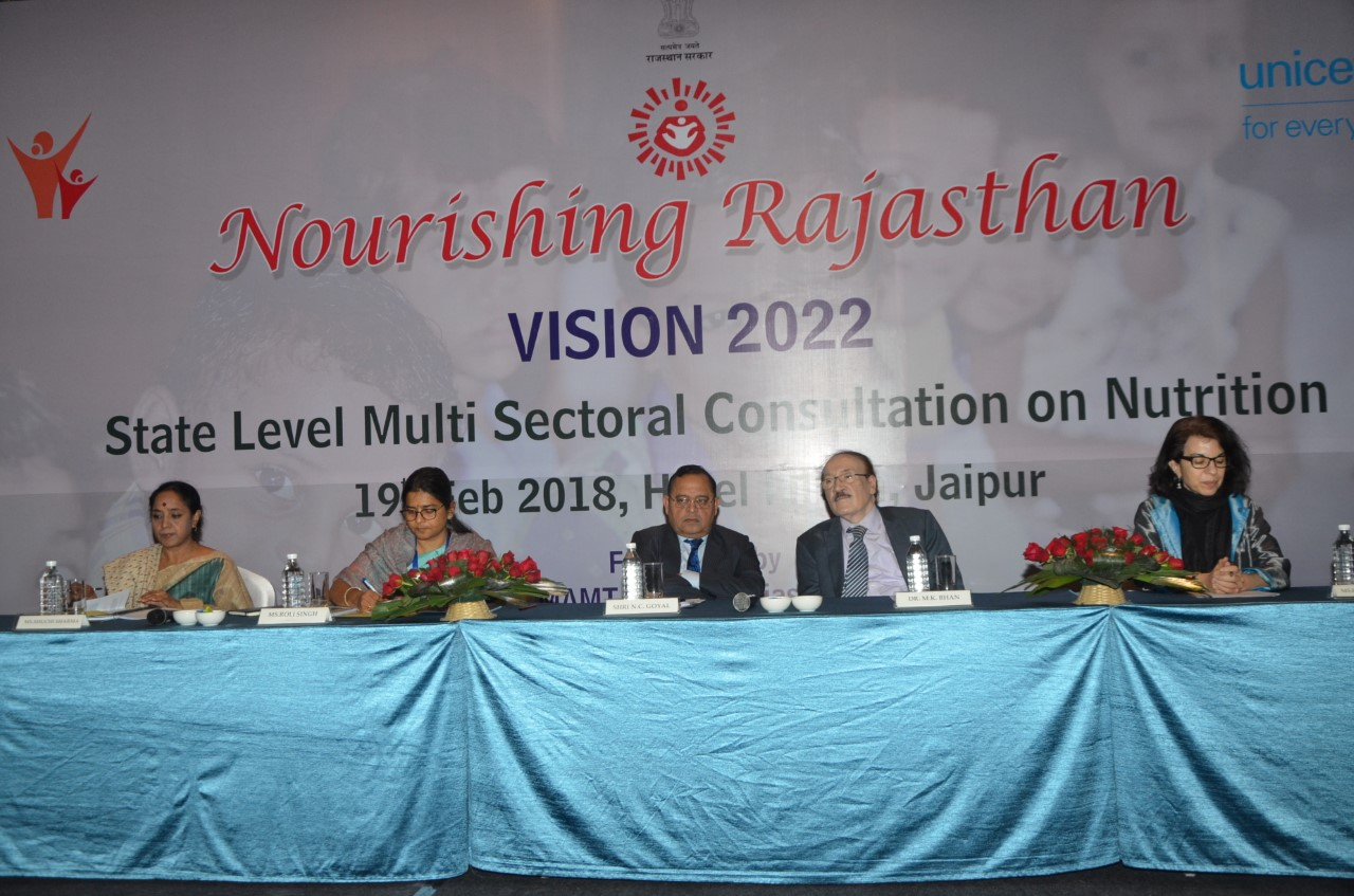 Nourishing Rajasthan Consultaion Program