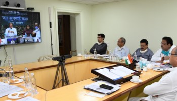 CM Interacts with Sarpanchs