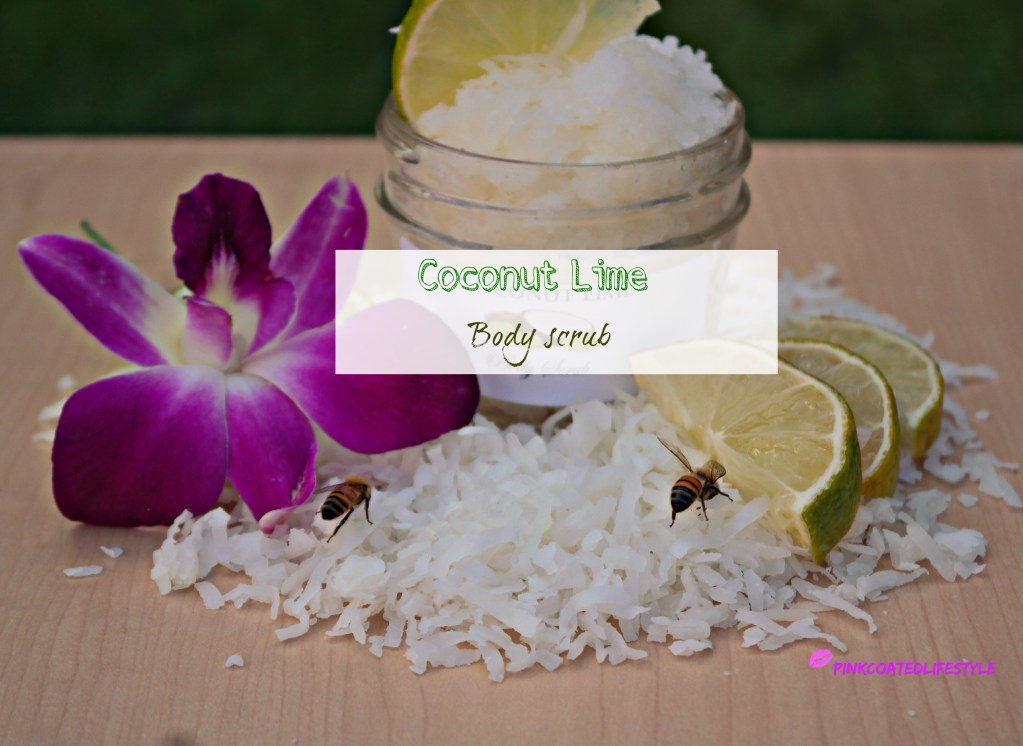 DIY Coconut Lime Body Scrub