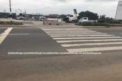 Pedestrian Crossing in Ghana