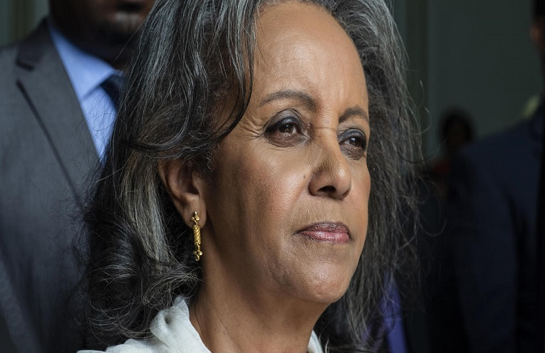 Ethiopia's first female president