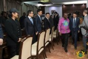 Ban Ki-Moon and Jack Ma visit Akufo-Addo