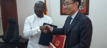 Ghana and China sign $42.62 million grant agreement