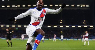 Schlupp was on target for Palace