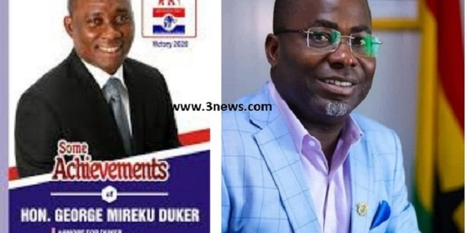 NPP SECRETARY  BITES MP's HAND AT A MEETING