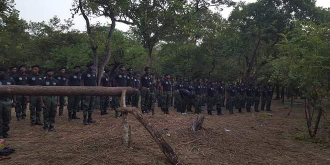 Photos of passing out ceremony by Western Togoland Secessionists surfaces online