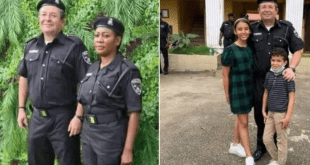 white man joins Nigerian Police Force