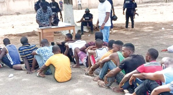 Security agencies arrest 500 foreign nationals in Bolga