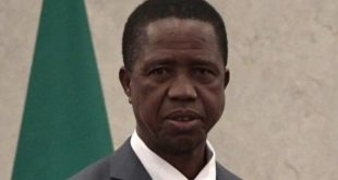 Zambian President collapses during national event