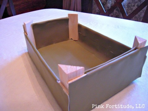 Cutie Clementine Box to Vintage Trunk Upcycle DIY by Coconut Head's Survival Guide