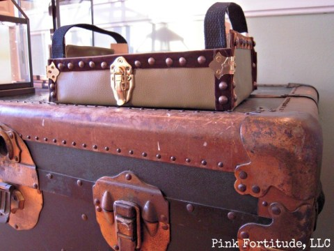 Cutie Clementine Box to Vintage Trunk Upcycle DIY by coconutheadsurvivalguide.com