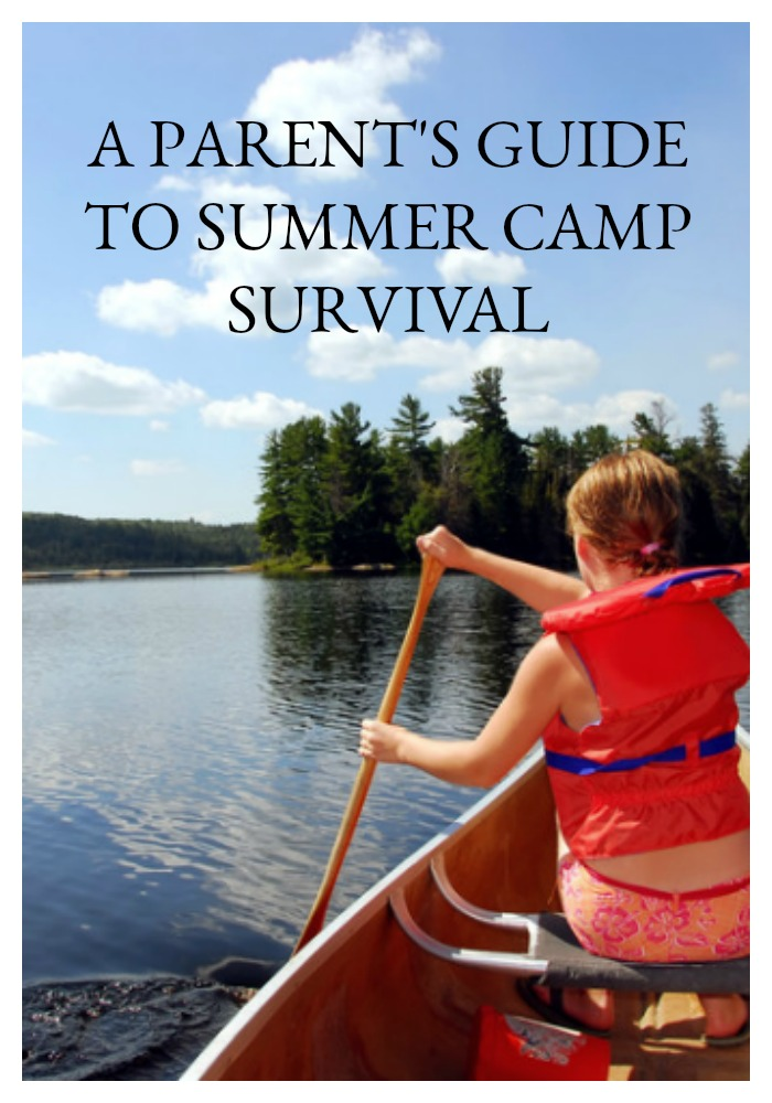 Overnight summer camp can be a lot of fun for the kids, but stressful for the parents - here are 12 tips and one DIY for your own summer camp survival.
