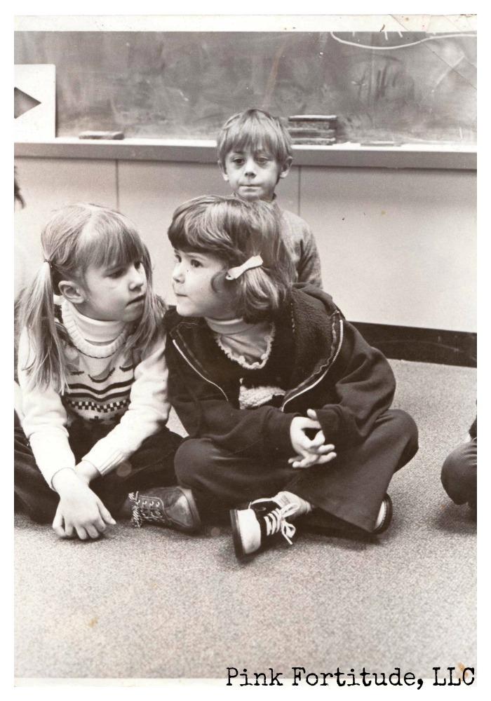 vintage kindergarten school picture by coconutheadsurvivalguide.com