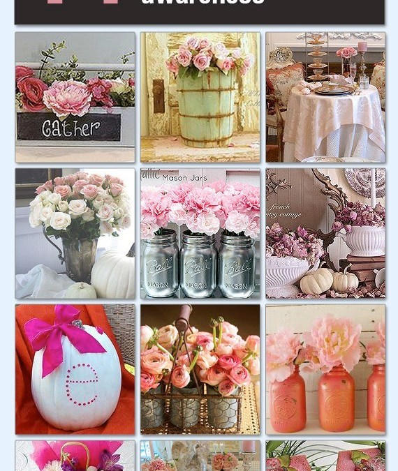 Hometalk Feature – 14 Inspiring Pink Decor Projects for Breast Cancer Month