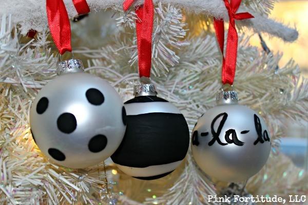 Kate Spade DIY Christmas Ornament by coconutheadsurvivalguide.com