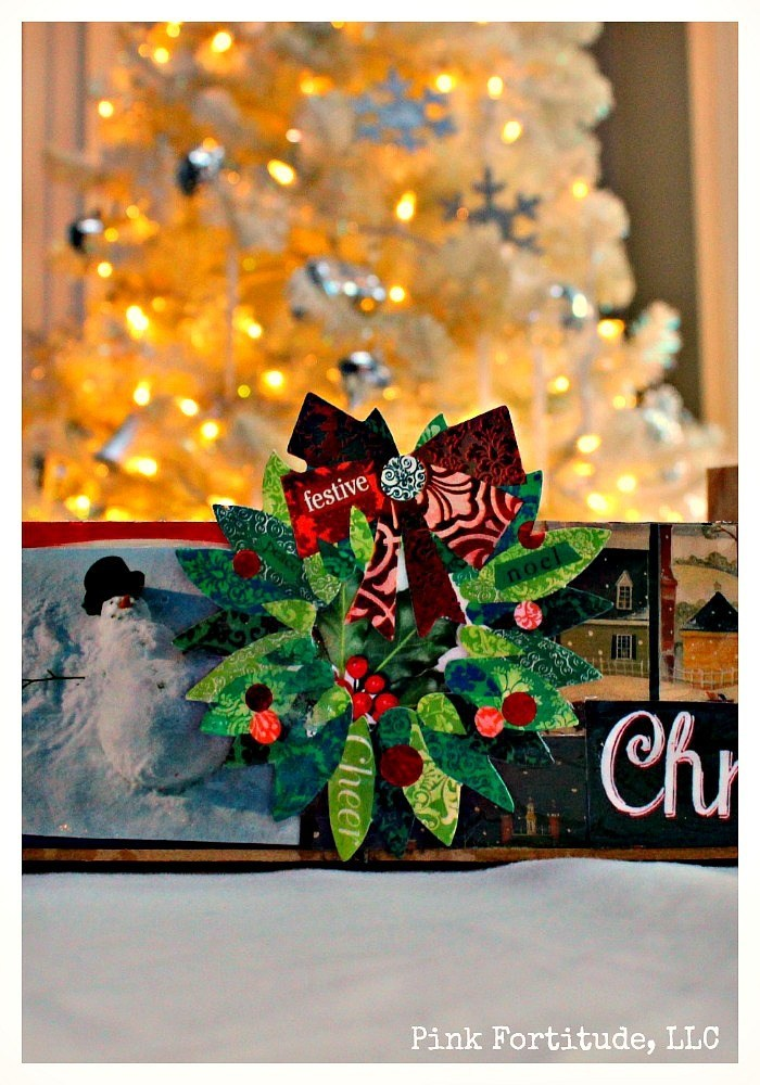Recycle Old Christmas Cards with a Cute Crate DIY! Do you keep old Christmas cards every year? This is an easy way to recycle those cards and make a DIY that will be a big hit with this year's decorations.