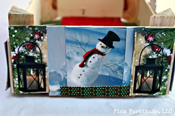 Christmas Cutie Crate DIY by coconutheadsurvivalguide.com Recycle last year's Christmas cards into this year's decorations