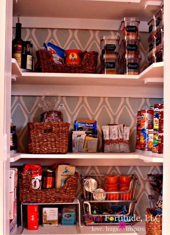 Some girls fall asleep imagining their dream wedding. I fall asleep imagining my dream pantry. My dream finally came true, and our tiny little pantry doubled in size. The before and after will blow your mind!