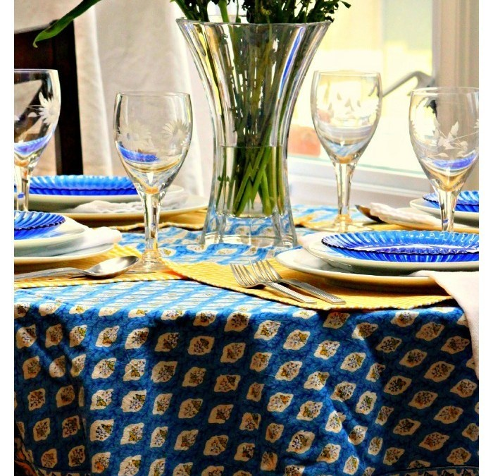 A Summer Bohemian Table