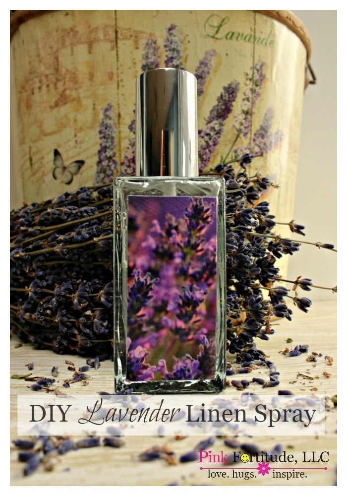 Giving your linens an aromatic spray before bedtime is a luxury indulgence that doesn't have to be expensive or toxic.  Today's DIY will show you how you can make your own lavender linen spray.  It's quick, easy, and very inexpensive, yet you will think you are sleeping at the Four Seasons!