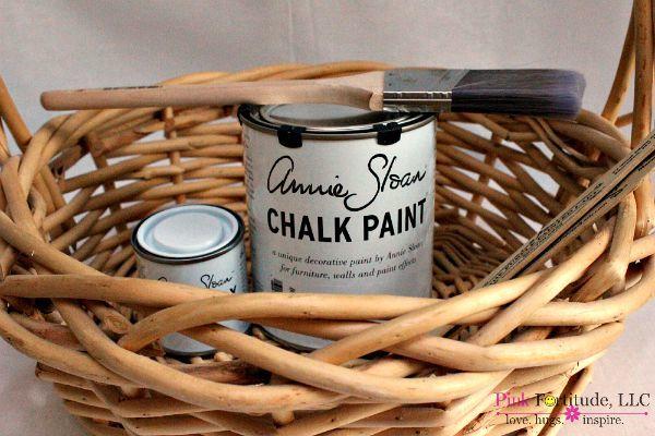 Annie Sloan Basket 1