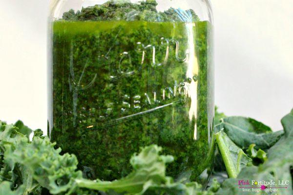 Vegan Kale Pesto Recipe by coconutheadsurvivalguide.com