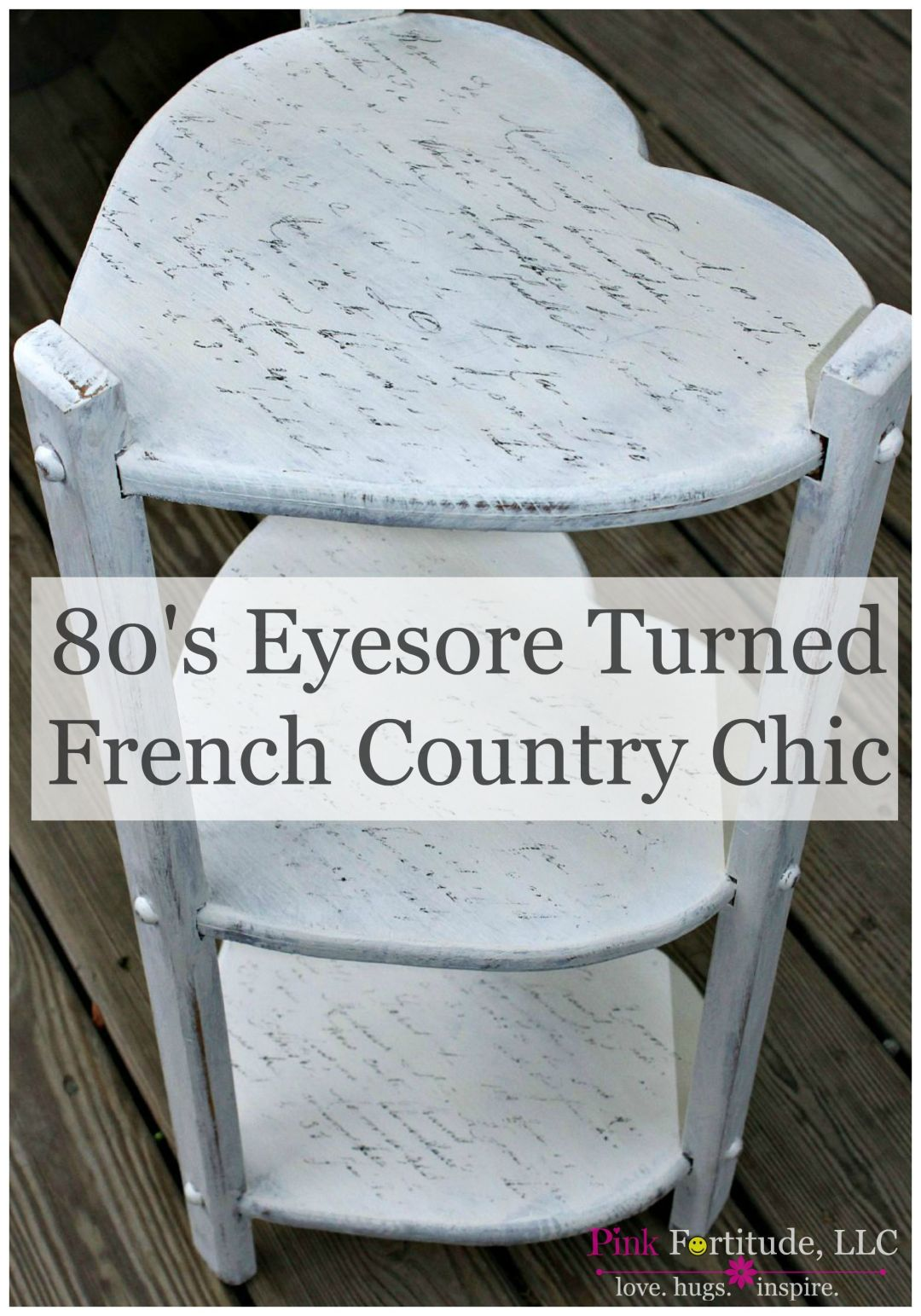 80s Eyesore Turned French Country Chic by coconutheadsurvivalguide.com