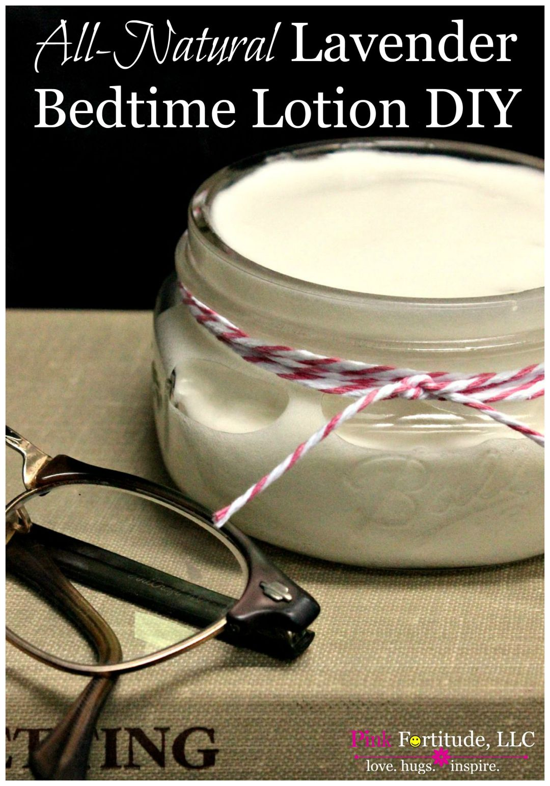 All-Natural Lavender Bedtime Lotion DIY by coconutheadsurvivalguide.com