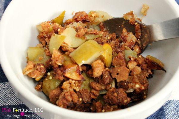 Cinnamon Apple Crisp Gluten Free and Vegan by coconutheadsurvivalguide.com