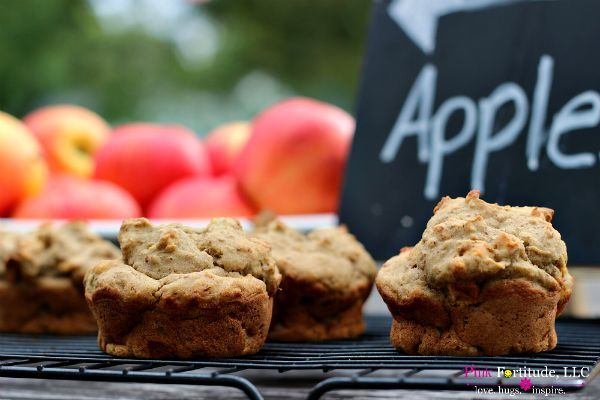 Kid Approved Healthy Apple Muffins gluten free & vegan by coconutheadsurvivalguide.com