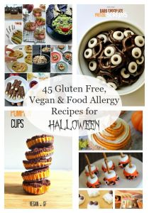 45 Gluten Free, Vegan & Food Allergy Recipes for Halloween