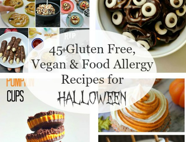45+ Gluten Free, Vegan & Food Allergy Recipes for Halloween