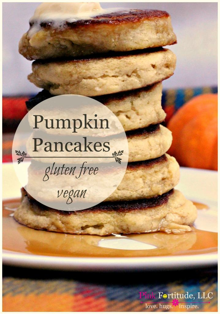 It's a great day when you not only get a delicious and nutritious recipe, but a hilarious back story to go along with it. It's pumpkin season, and these gluten free and vegan pumpkin pancakes are packed full of flavor without any unhealthy additives! The story is one that all families can relate to.... maybe over a plate of pumpkin pancakes?