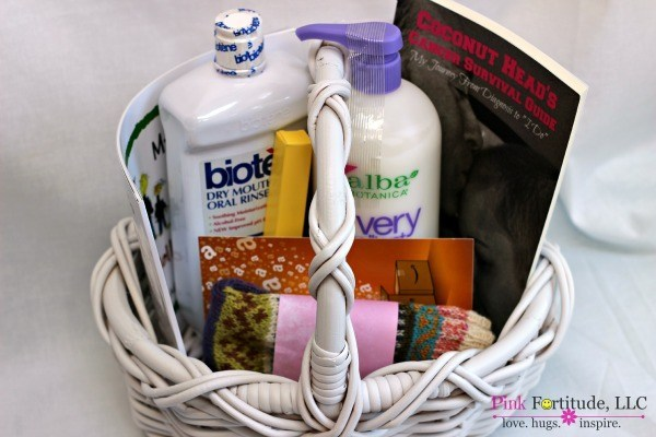 Chemo Care Basket What She Really Needs Pink Fortitude Llc