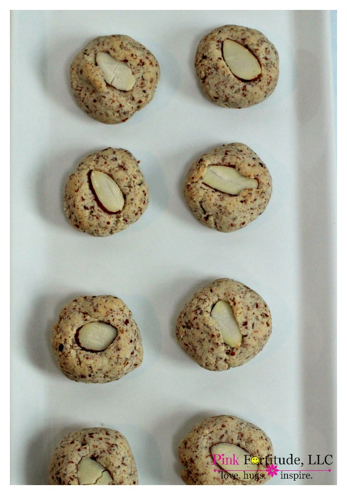 amaretto almond cookies gluten free & vegan. Don't you just love it when you find that all-purpose dessert cookie - the one you can serve any time of the year, and for any occasion? Whether it's for a ladies tea, a Christmas cookie exchange, a hostess gift, or if you are in need of a cookie recipe that is gluten free, dairy free, and egg free - this is it my friends!