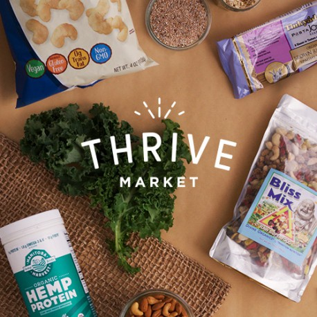 Thrive Market Affordable Healthy Groceries