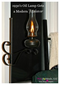 1930's Oil Lamp Gets a Modern Makeover
