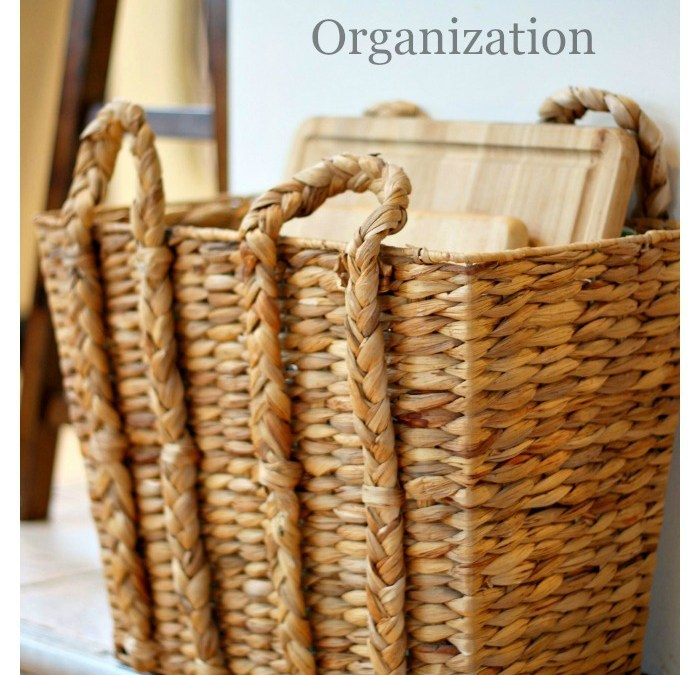 3 Secrets to Kitchen Organization That Are Right Under Your Nose