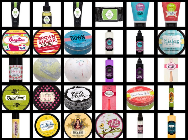 Perfectly Posh Bath and Beauty Products