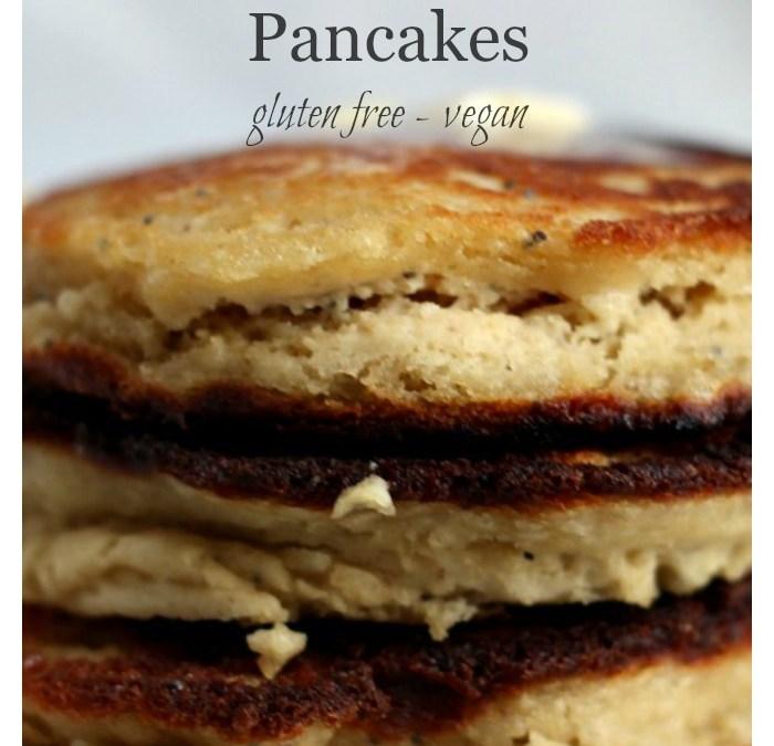 Lemon Poppy Seed Pancakes – GF/V