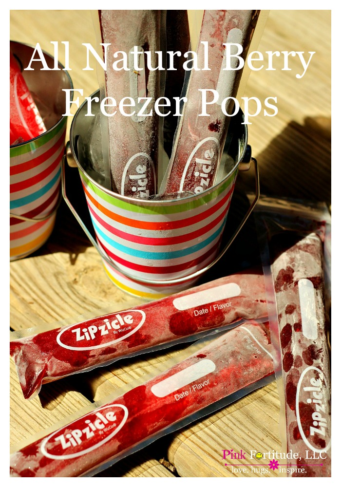 Whether it's a summer time treat for the kids, or a healthy dessert alternative, these all natural berry freezer pops will be a winner no matter which flavor you pick. And they are super easy to make. Find out how!