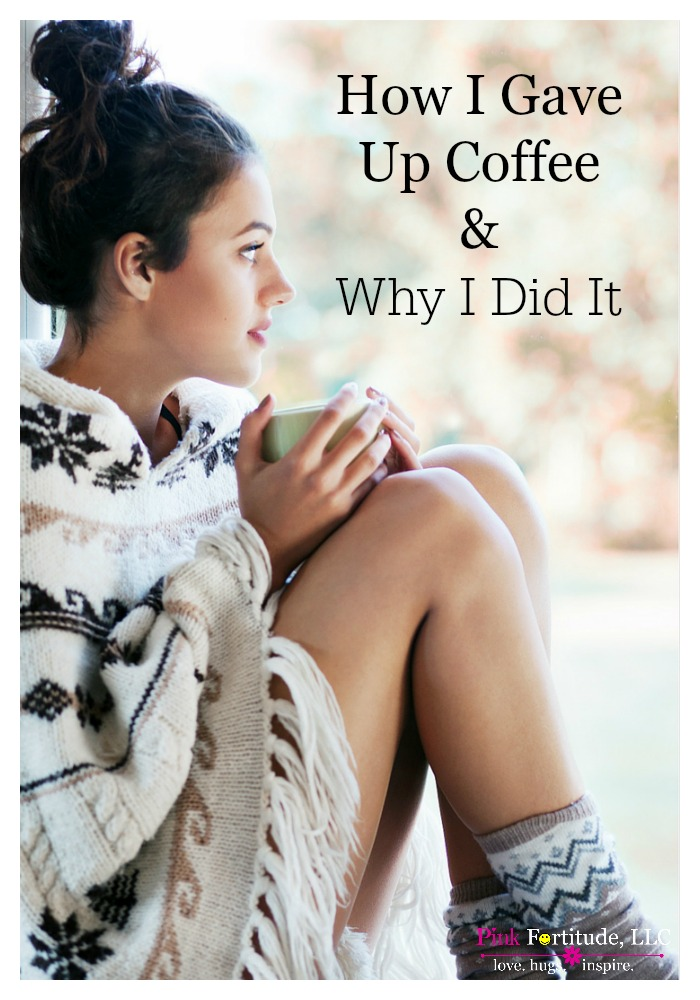 Anyone who knows me, knows that I am a coffee addict. I can't function without three cups of coffee in the morning. This is the story of how I gave up coffee and why I did it. You will be surprised at the result!