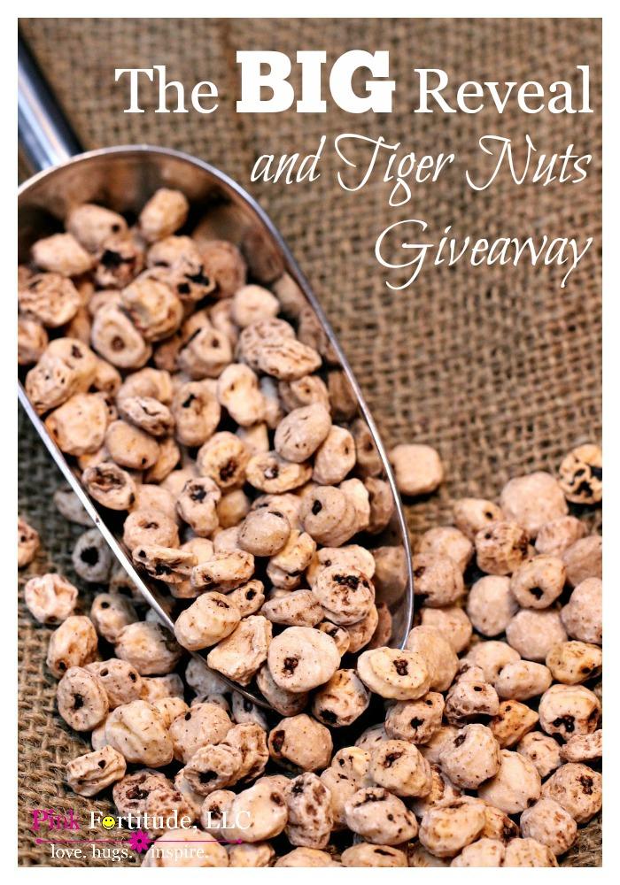 Welcome back to the BIG REVEAL! Tiger Nuts USA has generously offered a giveaway to our readers to help kick off the welcome back party. So kick back, relax, take a look around at the new design and be sure to enter the giveaway!