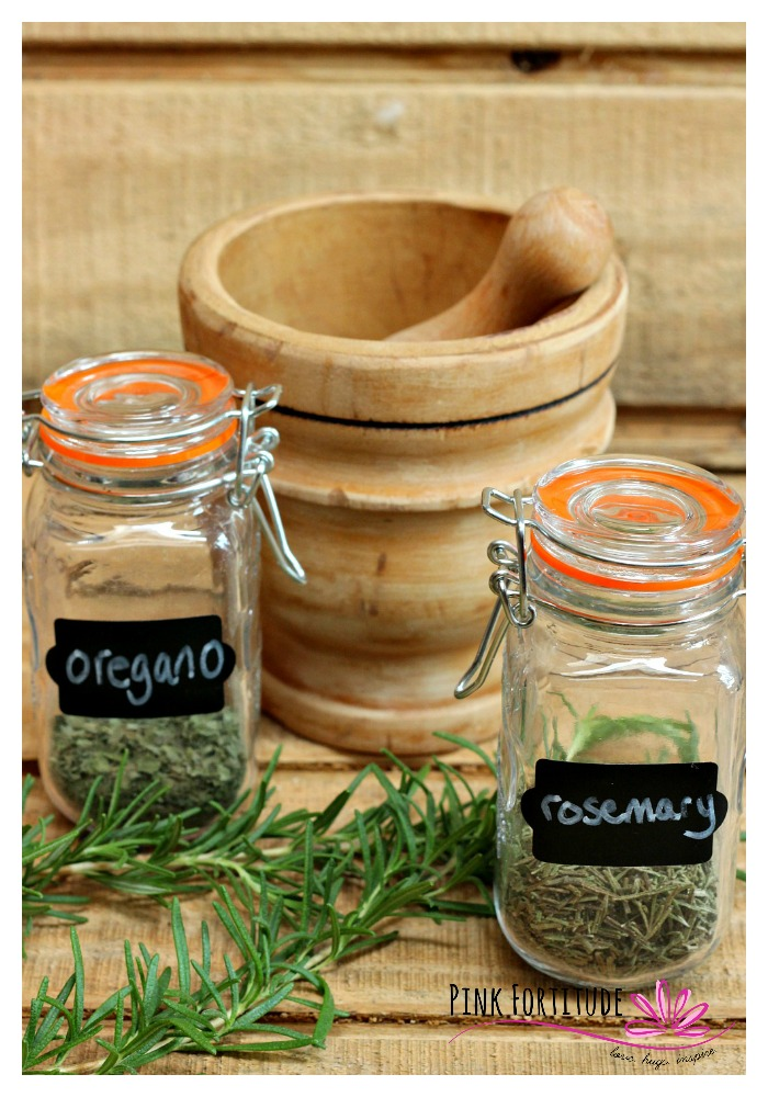 I used to think that herbs were just seasoning. I had no idea how healthy they are for you! I've been growing my own herbs for several years, but this year I learned how to actually harvest, dry, and preserve fresh herbs. It's so easy - let me show you how!
