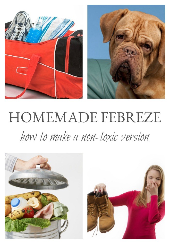 I love the idea of Febreze (or Fabreeze). Sometimes your home or car or whatever needs a little extra dose of good smells. But I am not a fan of the chemical and toxic ingredients. Let me show you how you can make your own non-toxic version in just a few minutes.