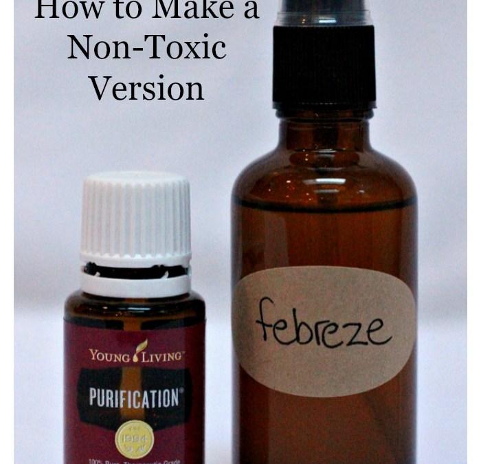 Homemade Febreze – How to Make a Non-Toxic Version