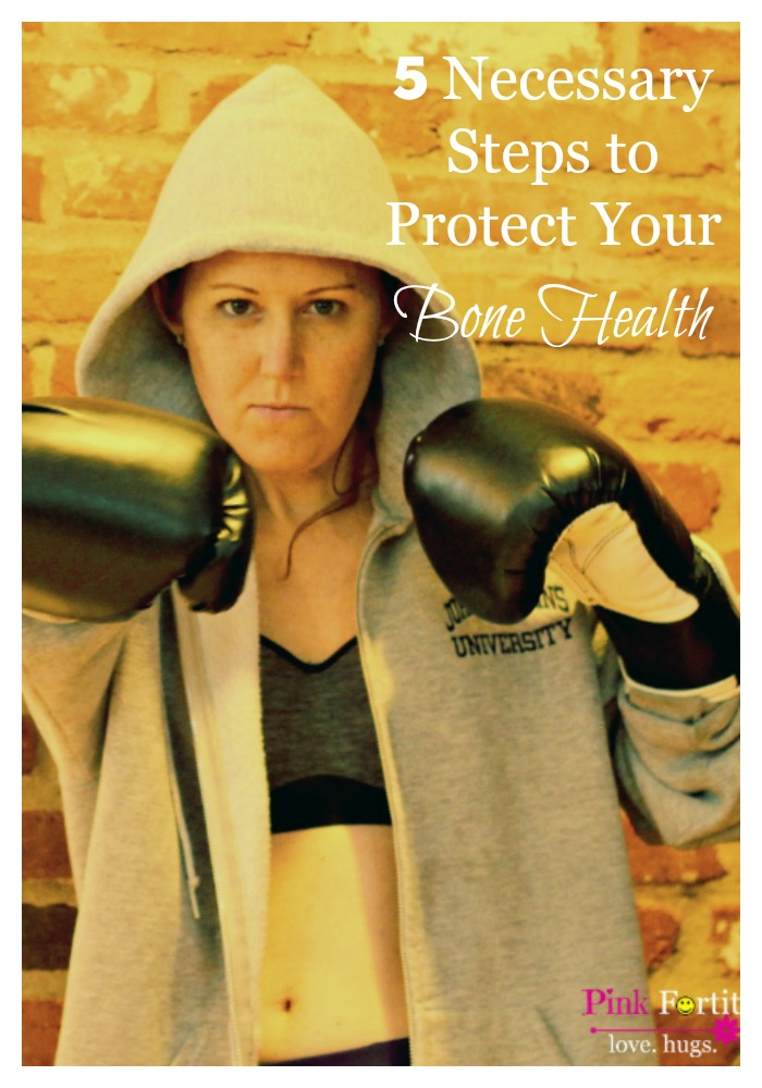 I went into early menopause at the age of 39 and from that point forward, I took an extra interest in protecting my bone health. Menopause is a tipping point to increase a woman's risk of osteoporosis. But did you know there are 5 things you can do at any age to help protect your bone health?