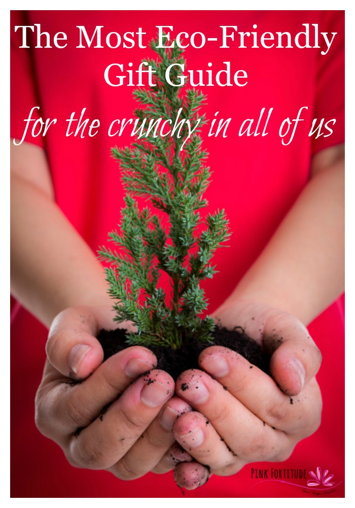 This eco-friendly holiday gift guide has everything from stocking stuffers to great presents. And oh, by the way, every single item is either organic, eco-friendly, socially conscious, made from recycled materials, or some combination thereof…. AND… not only will you support the environment with this purchase, but you will also support businesses who believe in conscious capitalism. Let the shopping begin!